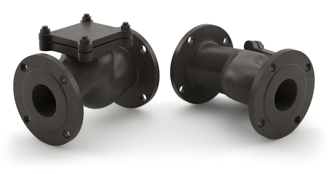 Клапан обратный подъемный, тип 16ч6п, Ру 16
